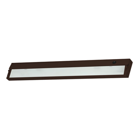 Elk ZeeLine 4 Lamp Xenon Cabinet Light In Bronze With Diffused Glass Under Cabinet item number ZL335RSF