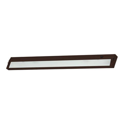 Elk ZeeLine 6 Lamp Xenon Cabinet Light In Bronze With Diffused Glass Under Cabinet item number ZL348RSF