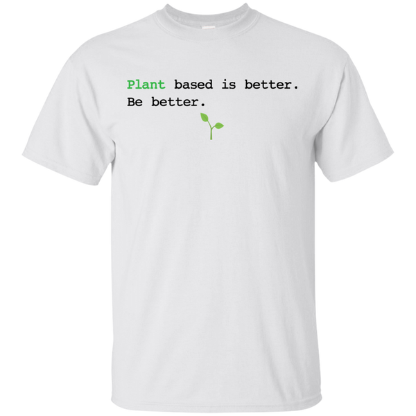 Plant Based Is Better