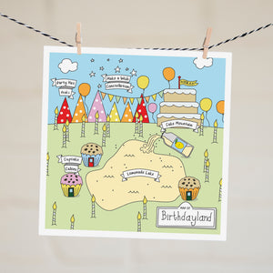 Card - Birthdayland