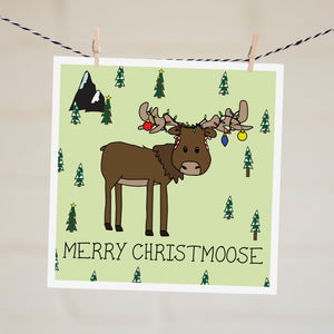Card - Merry Christmoose