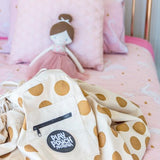 Glitter Gold Dots Printed Play Pouch