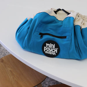 Ocean Blue Mini Play Pouch