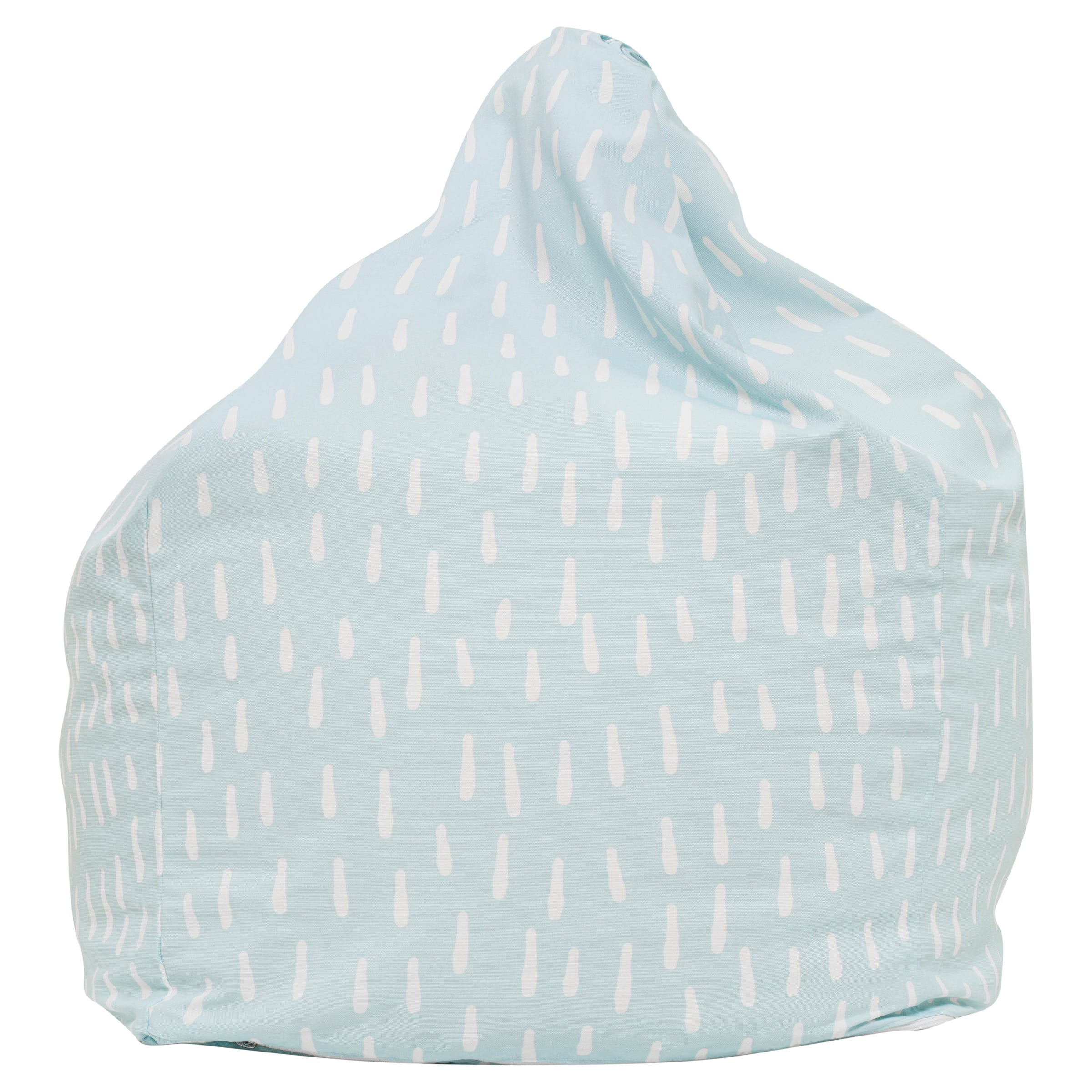 Raindrops Bean Bag - Aqua Blue