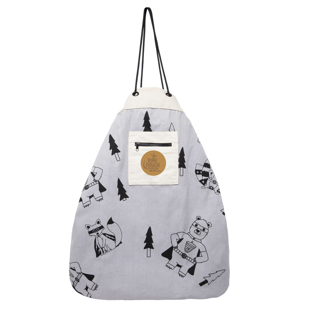 Superbear & Friends Printed Play Pouch