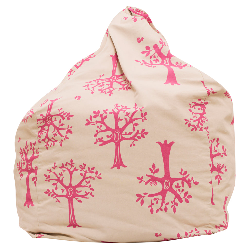 Orchard Pink Bean Bag