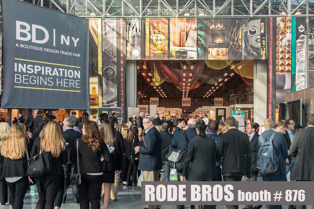 Visit Rode Bros at BDNY