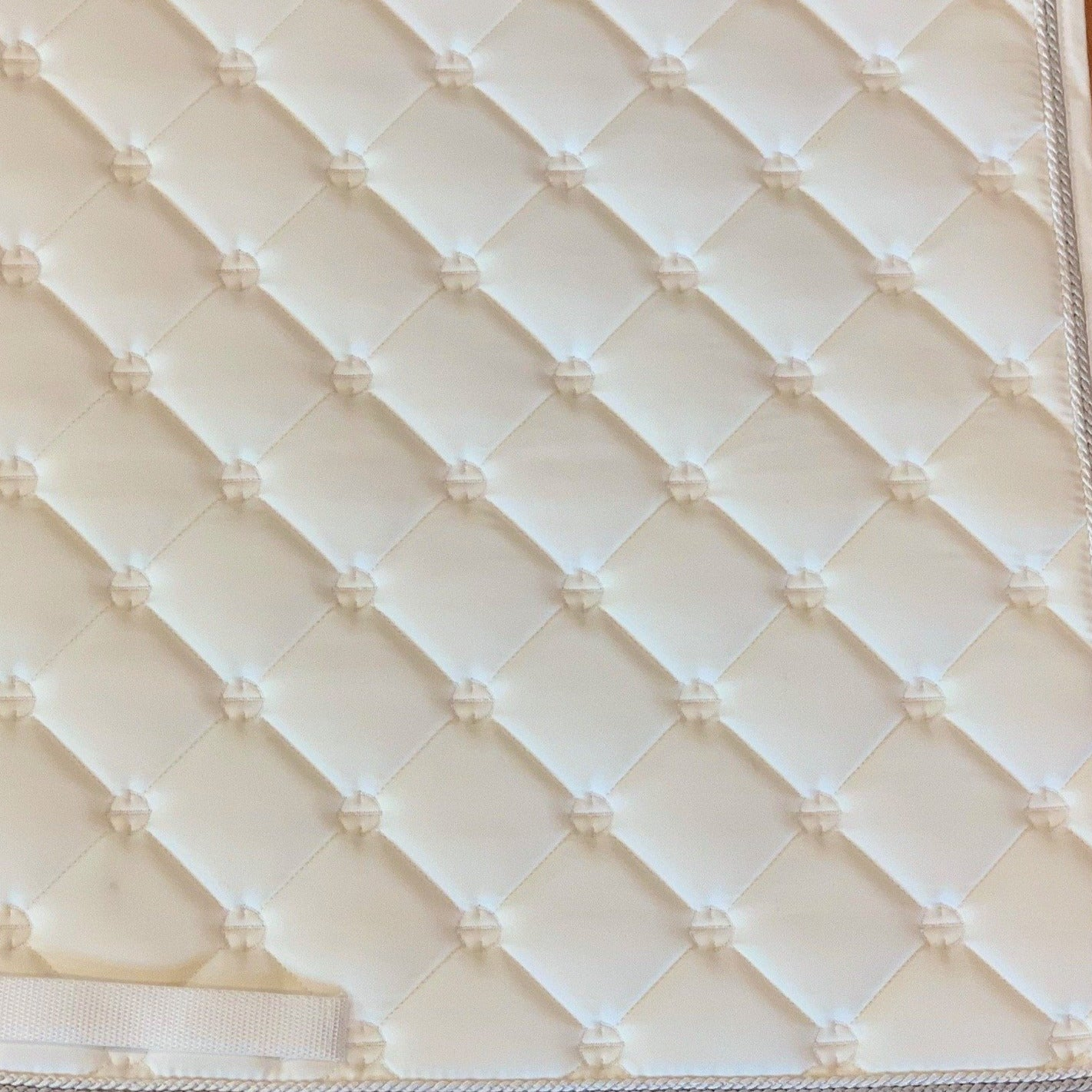 Luxe Dressage Saddle Pad - White