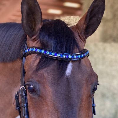 Limited Edition Swarovski Crystal Browband - The Capri