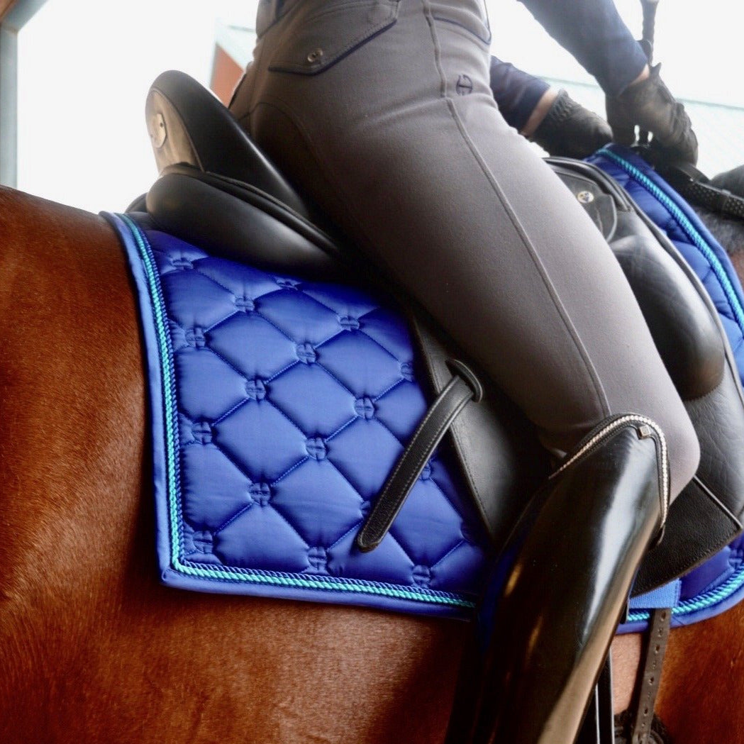 Luxe Dressage Saddle Pad - Royal Blue