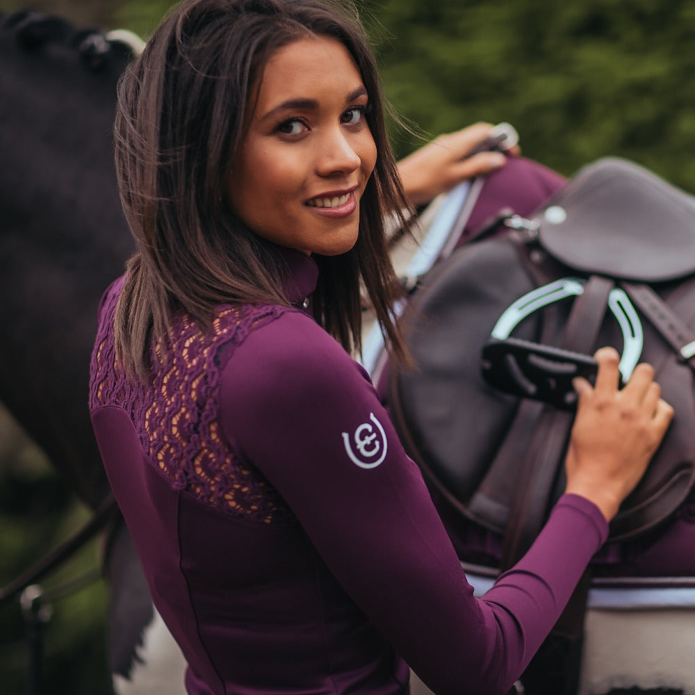 Equestrian Stockholm Champion Purple Top