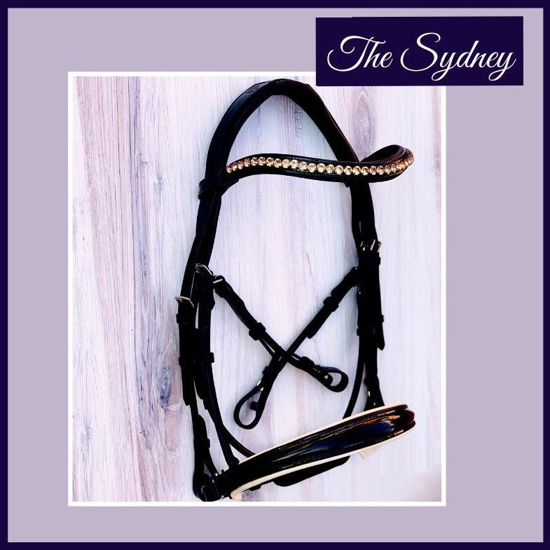 Halter Ego® The Sydney Black Patent Double