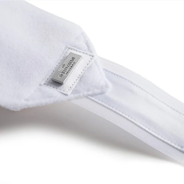 Equestrian Stockholm White Silver Fleece Bandages