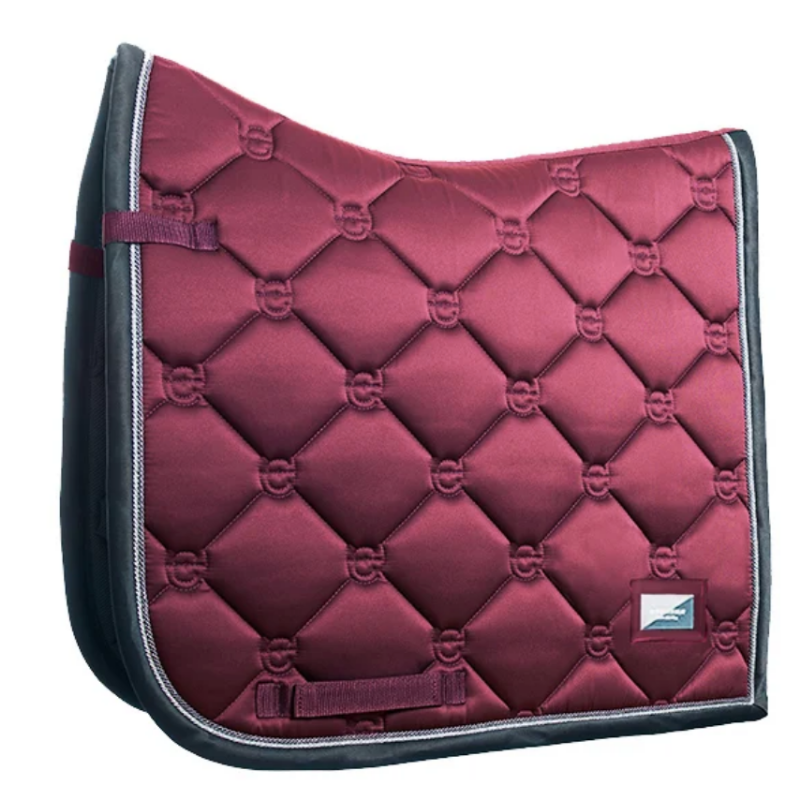 Equestrian Stockholm Winter Rose Dressage Pad