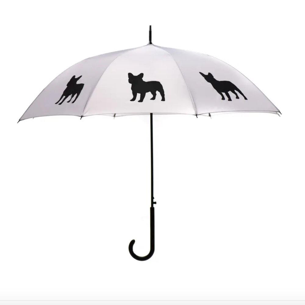 Umbrella - Frenchie Design 34.5""