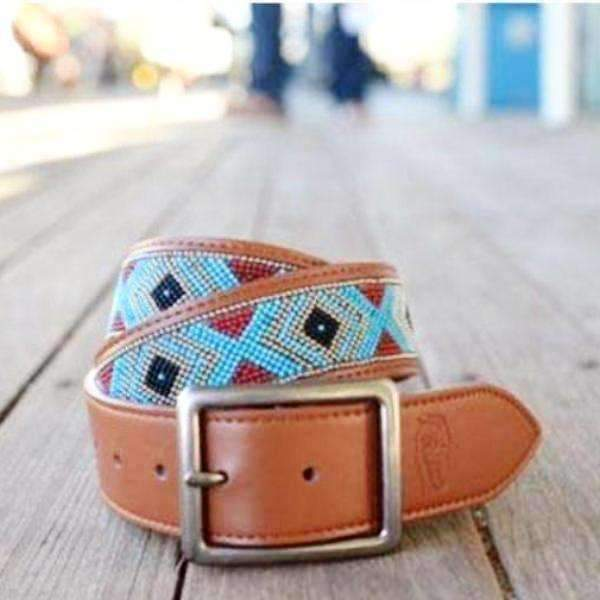 Accessories Silver + Turquoise / Small Zingaro Belt
