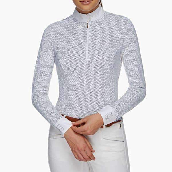 The Pizazz - Long Sleeve Women's Riding Shirt