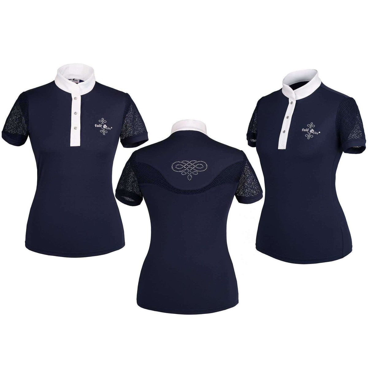 FairPlay Short Sleeved Lace Competition Shirt 2.0