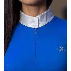 Long Sleeved Satin Collar Riding Shirt