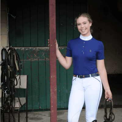 The Fling - Short Sleeved Women's Riding Polo