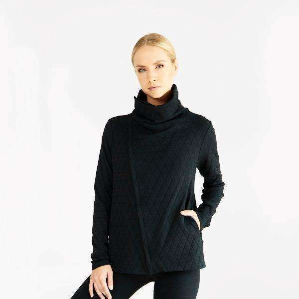 Quilted Activewear Jacket