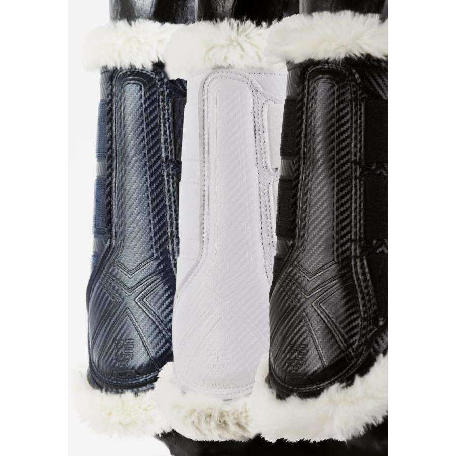"Carbon Tech Microfiber ""Leather"" Techno Wool Brushing Boots"