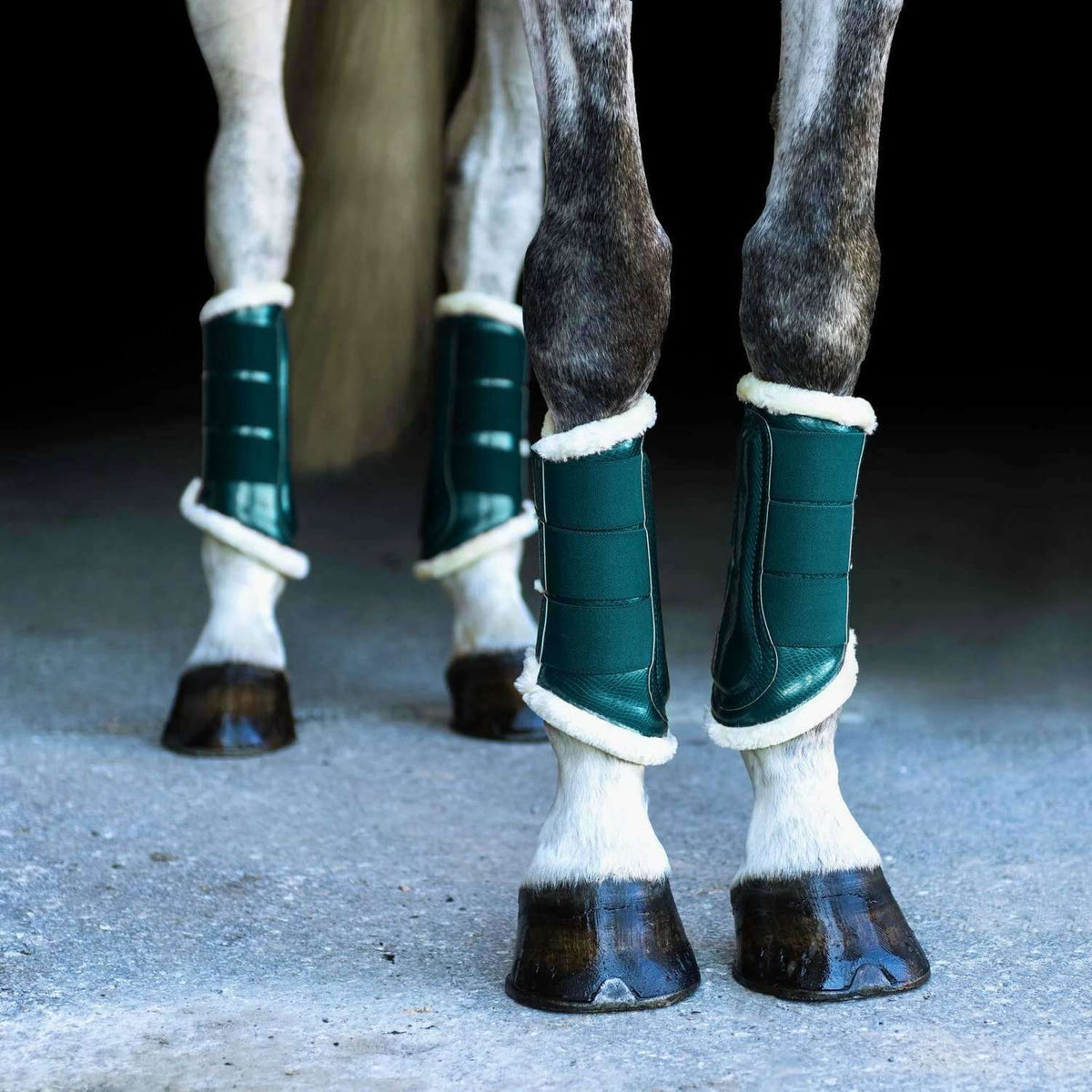 Equestrian Stockholm Amazonite Brushing Boots