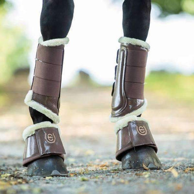 Equestrian Stockholm Champagne Bell Boots