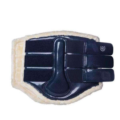 Equestrian Stockholm Navy Brushing Boots