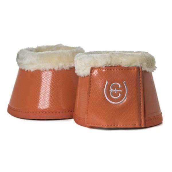 Equestrian Stockholm Brick Orange Bell Boots