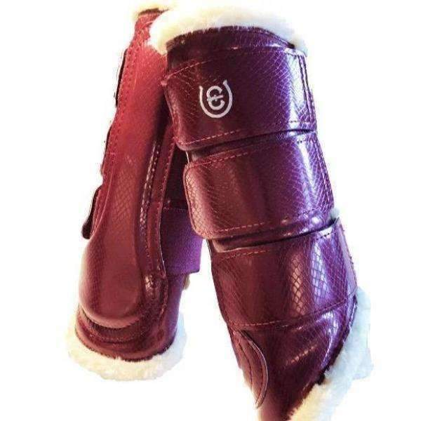Equestrian Stockholm Bordeaux Brushing Boots