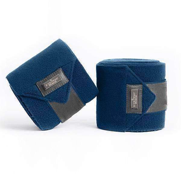 Equestrian Stockholm Moroccan Blue Fleece Bandages