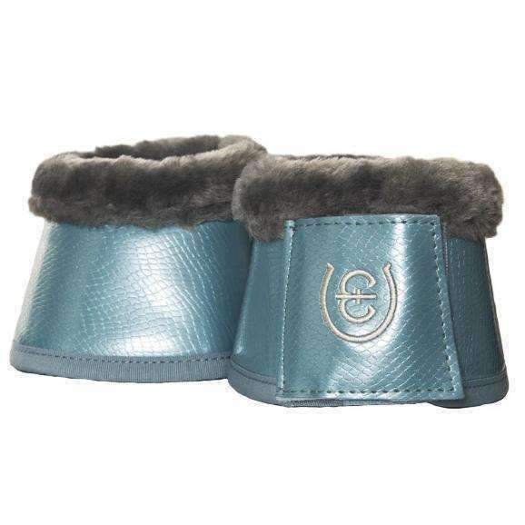 Boots & Wraps Small Equestrian Stockholm Steel Blue Bell Boots
