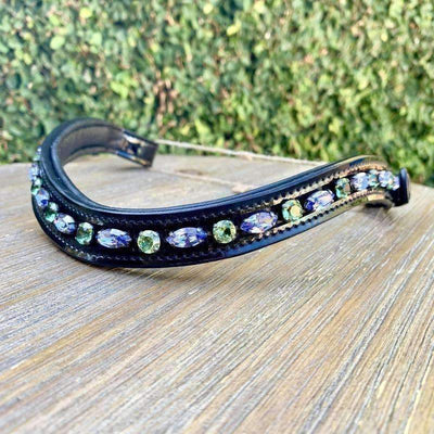 Halter Ego® Swarovski Crystal Patent Browband - Limited Edition Summer Passion