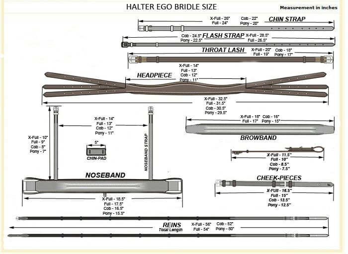 The Halter Ego® 'Showstopper' Patent Double Bridle
