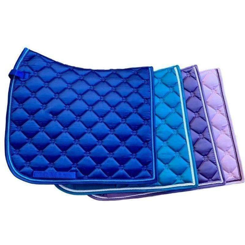 Luxe Dressage Saddle Pad - Violet