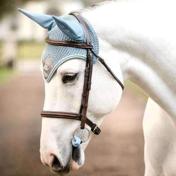 Equestrian Stockholm Steel Blue Ear Net