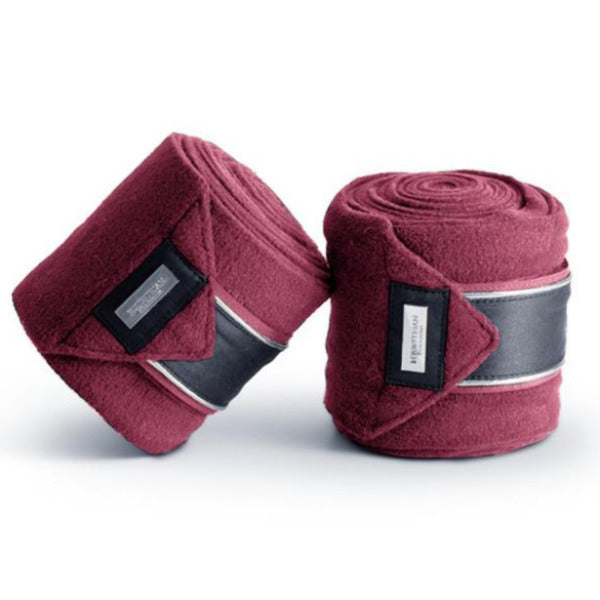 Equestrian Stockholm Winter Rose Fleece Bandages