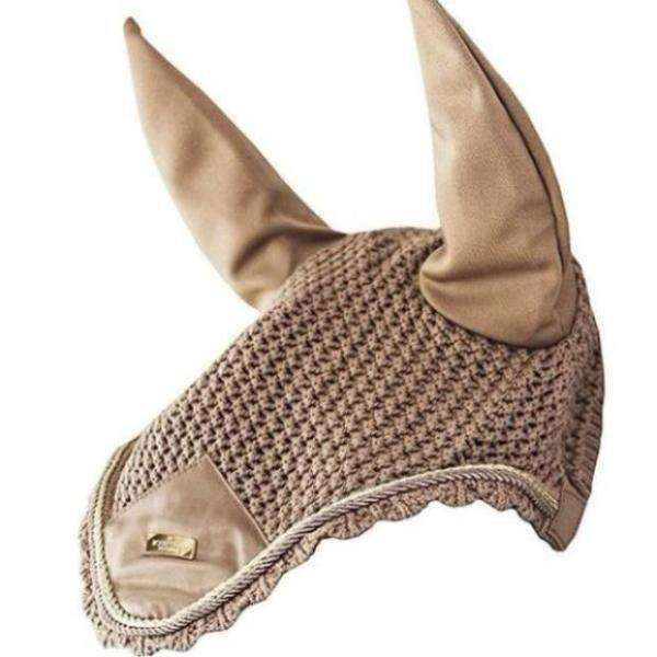 Equestrian Stockholm Champagne Ear Net
