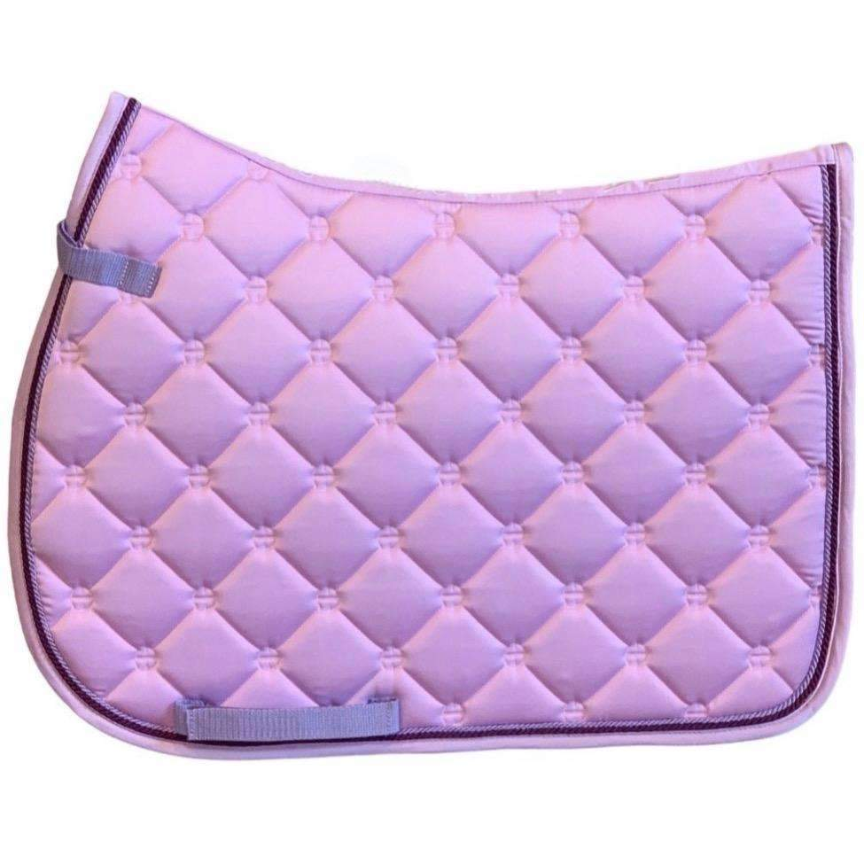 Luxe Jump Saddle Pad - Pretty in Pink