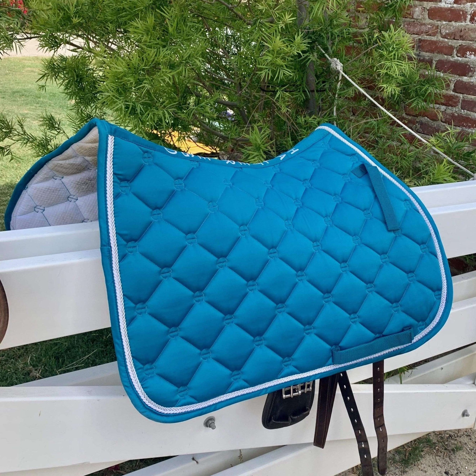 Luxe Jump Saddle Pad - Teal