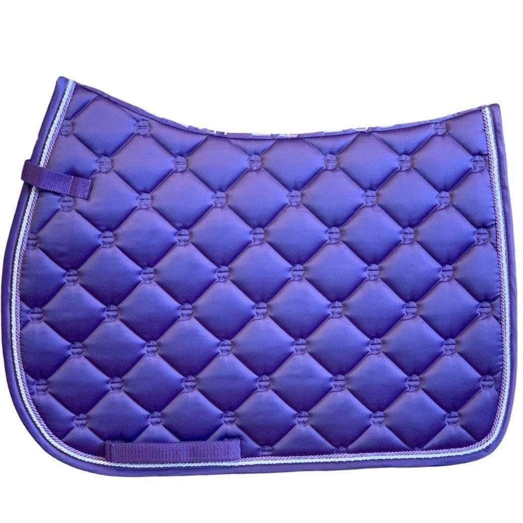 Luxe Jump Saddle Pad - Violet