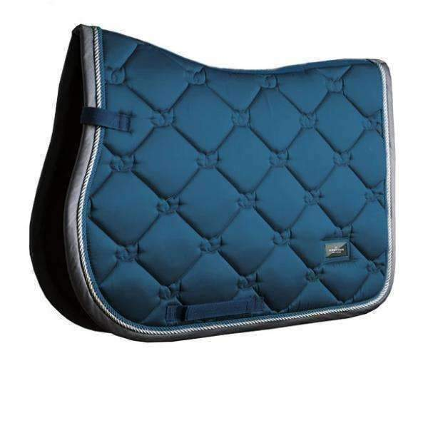 Equestrian Stockholm Moroccan Blue Jump Pad - PONY
