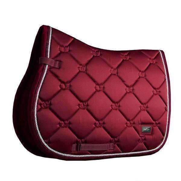 Equestrian Stockholm Bordeaux Jump Saddle Pad