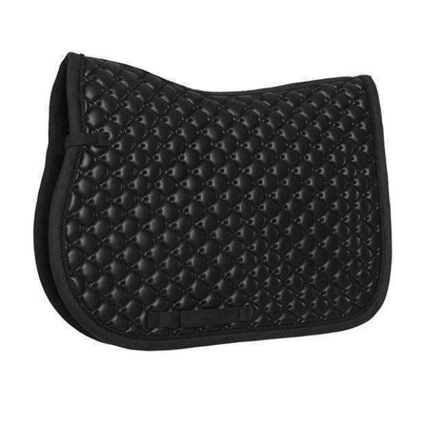 "Equestrian Stockholm All In ""Leather"" Jump Saddle Pad"