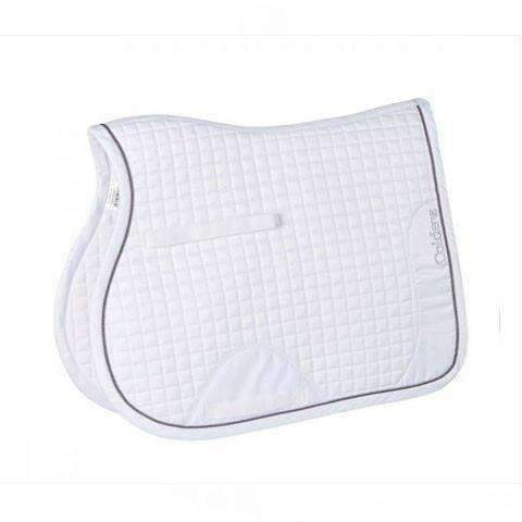 Luxury Quilted Satin GP Saddle Pad