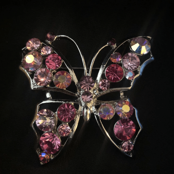 Colored Butterfly Pin