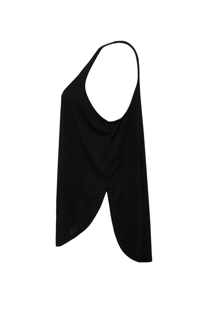 LAND AND SEA SIDE SLIT TANK BLACK