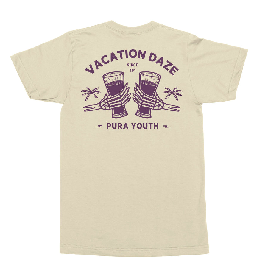 VACATION DAZE TEE CREAM