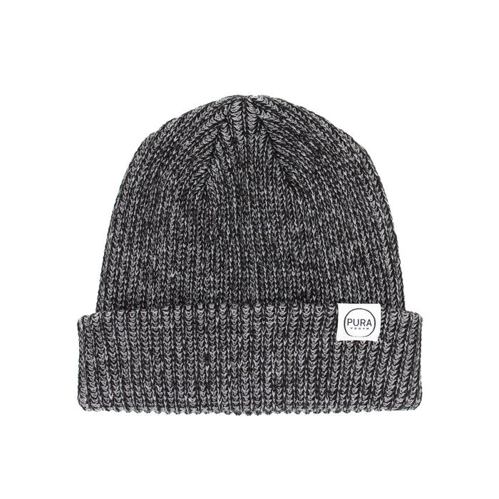 All Day Beanie Heather Black